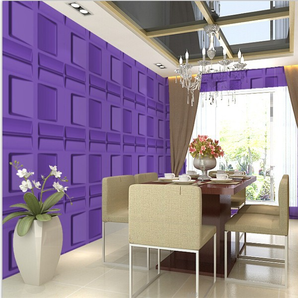 3d effect interior wall panel luxury wallpaper bamboo
