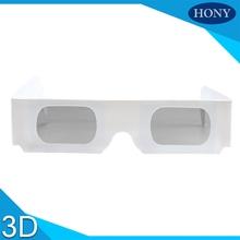 Custom Artwork Printing paper passive Chromadepth clear lens 3d glasses,cardboard chromadepth 3d glasses