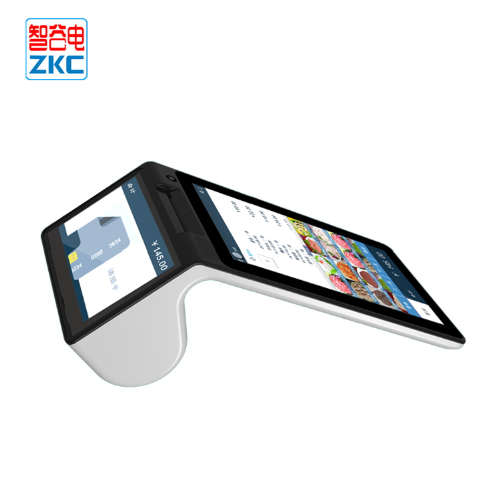 7 inch android wireless touch screen QR code payment pos terminal