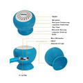 Sucker Bluetooth Portable Speaker Bluetooth Waterproof Speaker Mushroom Bluetooth Speaker