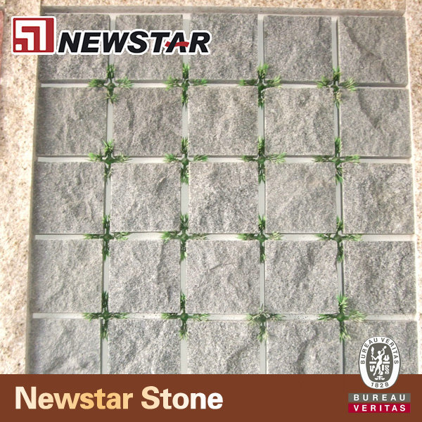 Newstar chinese granite driveway pavers on meshed 30x30cm