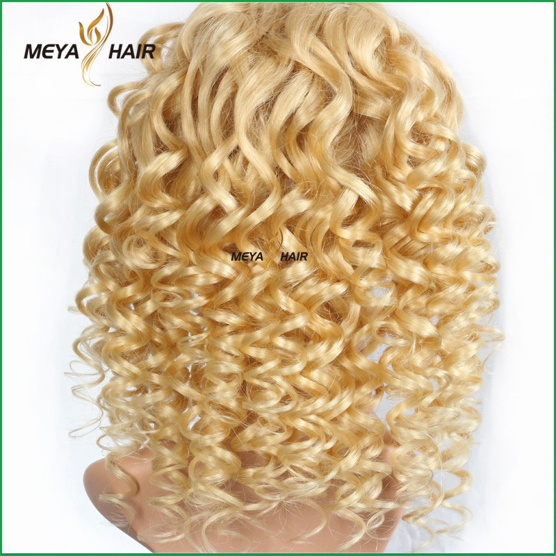 european hair full lace wig from Meya hair factory .we only focus on virgin remy human hair products