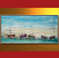 CTV-01399 Handmade oil painting on canvas modern art scenery paintings