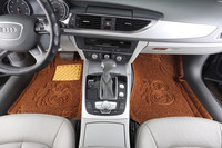 PVC,PVC/Plastic Material and Full Set Type car carpet mat