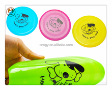 Hot Selling Plastic Dog Face flying disc frisbee dog toys