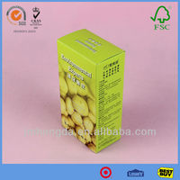 Professional Good Quality Comestic Packaging Design With Recyclable Materials