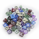Factory custom made engraved D6 / D8 / D10 dice resin dice with designs
