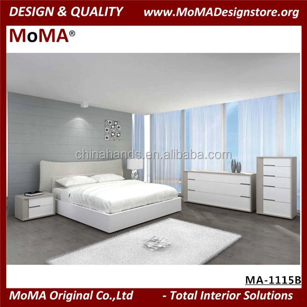 MA-1115B Modern Royal Furniture Bedroom Sets Italian Bedroom Set