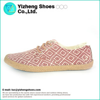 High Quality Manufacturer Casual Canvas Fashion woman lady shoe