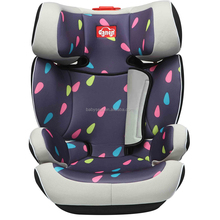 ISOFIX Luxury children car chairs safety material European standard foldable baby seat for car
