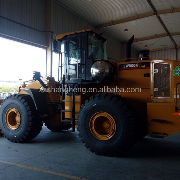 China Brand XCMG LW800K 8 Ton LNG Electric Wheel Loader for sale