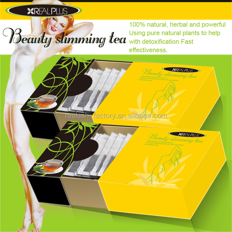HACCP GMP CE Create Your Own Brand With Small Budget Slim Fast REAL PLUS Flat Tummy Tea