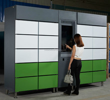 Brand new fresh food locker with great price/ parcel delivery refrigerated locker with digital control