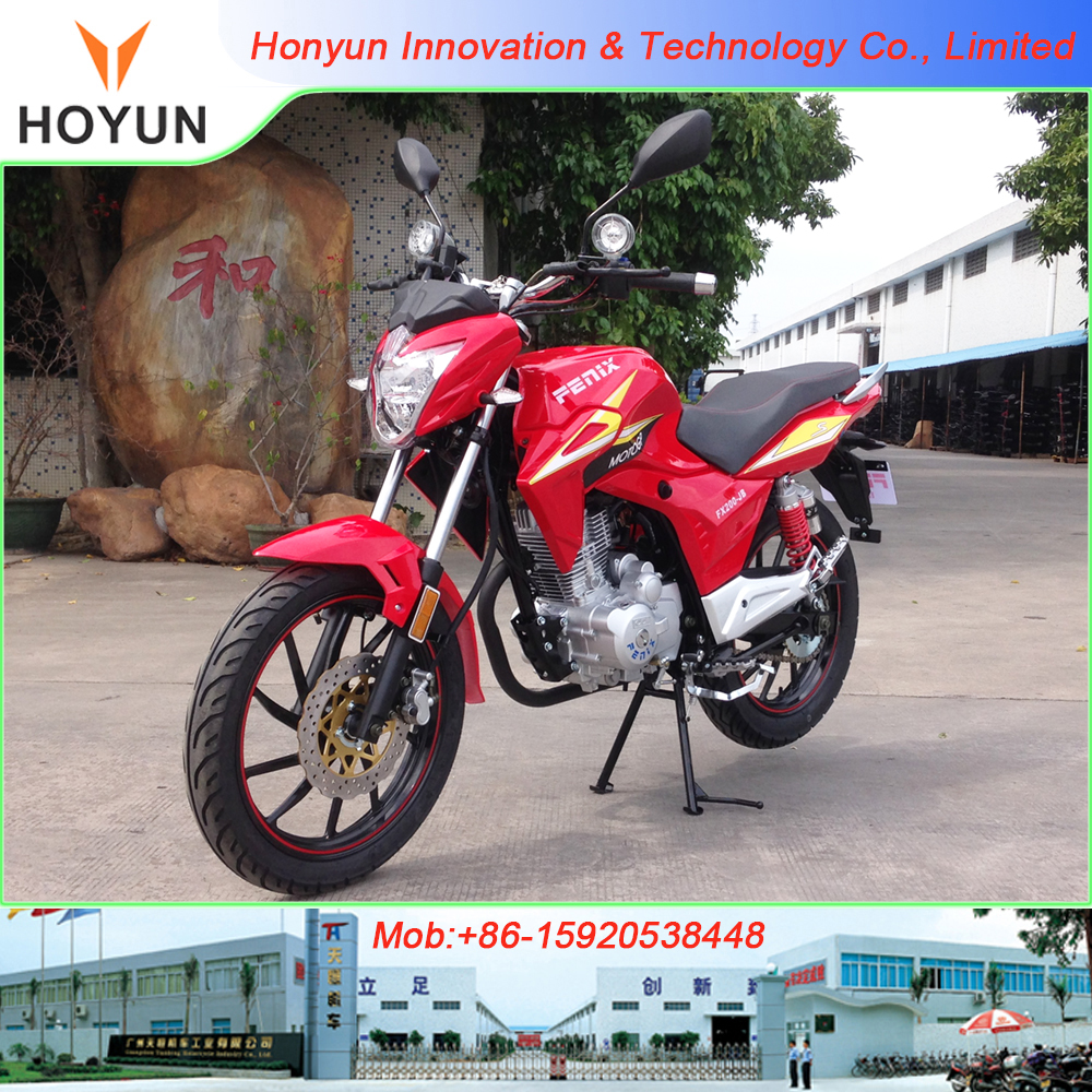 Hot sale in Bolivia made in Guangzhou FENIX FX200-JB 498USD Robinson motorcycles