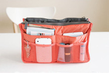 Hot Sold Nylon Waterproof Makeup Bags Organizer Women Cosmetic Cases Outdoor Travel Bag Lady Cosmetic Bag