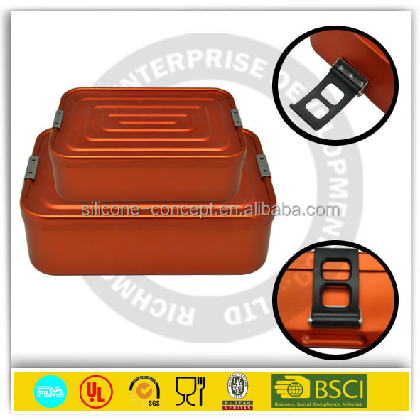 metal lunchbox /Silicone Kitchen Tools