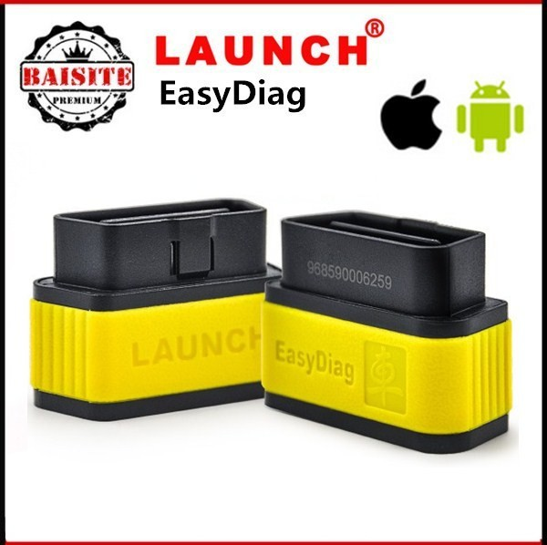 Factory price!!Free dhl 10pcs/lot original Launch x431 EasyDiag for IOS Android easy diag x431 update online with good feedback