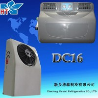 12v/24v battery driven cooling refrigeration unit for cargo van split air conditioning units carrier battery tripping units