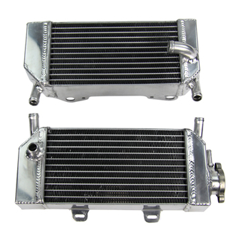 Aluminium motorcycle radiator for sale For Honda CRF250 CRF250X CRF250R Fit In 2004 2005 2006 2007 2008 2009