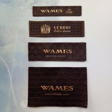 Factory Price Custom Clothing Label Cheap End Fold Woven Label