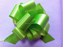 plastic pull ribbon bow