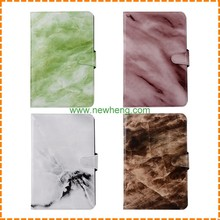 New product marble pattern tablet leather flip stand Card slot case for iPad Mini 4