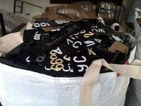 Car number plate scrap (plastics Scrap)