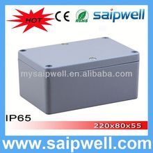 IP65 waterproof aluminium tool boxes for trucks 120*80*55mm