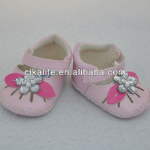 18inch Pink doll buckles shoes for 18 inch doll