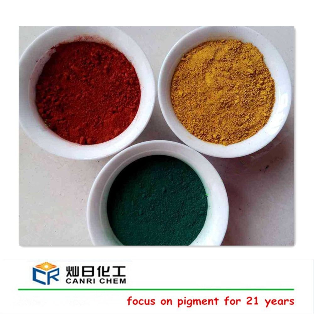 Iron oxide red 130/190(synthetic fe2o3 pigment) for cement tiles