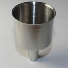 Factory supplying stainless steel oil funnel in high quality