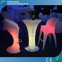 energy envir easy to clean led bar table furniture GKT-102FB