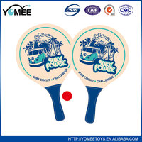 New 2016 Hot sale mixed color cheap beach tennis racket