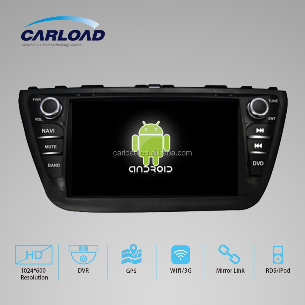 2 Din car dvd gps for android suzuki sx4 2014