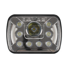 55W High Low beam off road Led Work light 5x7 Led Headlight 7inch Led WORK Lights for Trucks 4x4 Jeep Offroad