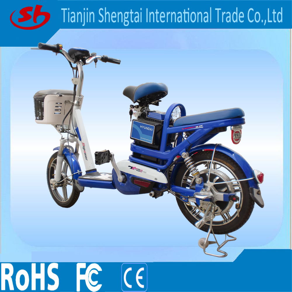 350W high power 18 inch tire E bicycle /adult electric motorcycle