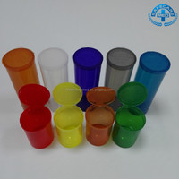 Eco-friendly Medical Pop Top Vials Easy Squeeze Sides Rx Pharmacy Vials