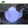 Customized Logo Printed Inflatable Teapot Balloon Model For Advertising