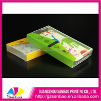 3D printing plastic box for mobilephone case, wonderful packaging promotion of pvc box