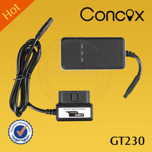 Concox New Diagnostic Tracker GT230 with Vibration Alarm and Moving Alarm Car obd ii gps trackers remotely reading odometer