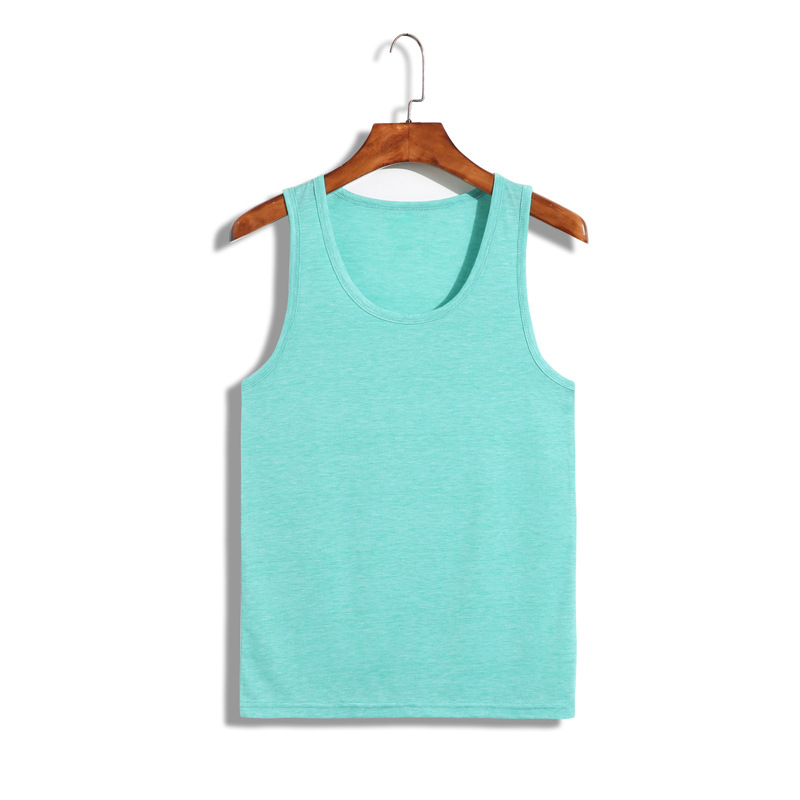 green color womens tee shirts and tank top in bulk crop top screen printing sleeveless t shirt ladies' triblend racerback tank