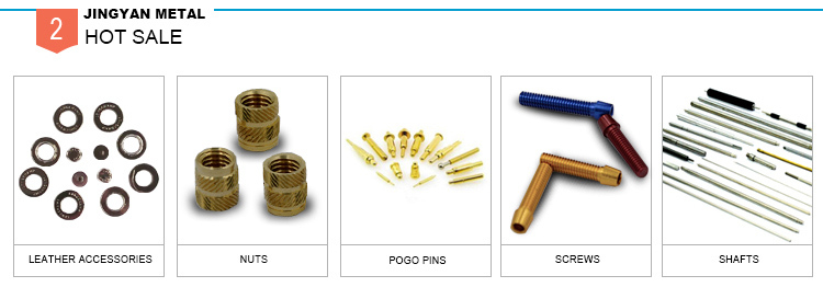 nonstandard service threaded double thread brass nuts made in China
