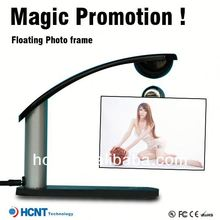 Magical!!Magnetic floating levitating photo frame ,cast iron photo frame
