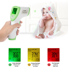 2017 Digital LCD Infrared Baby Adult Non-contact Thermometer Forehead Temperature Meter 32~43C