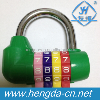 YH9189 High quality five-number fitness room combination lock