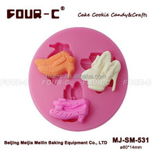 Silicone shoes sugarcraft mold,pastry mold,gum paste decorating mold