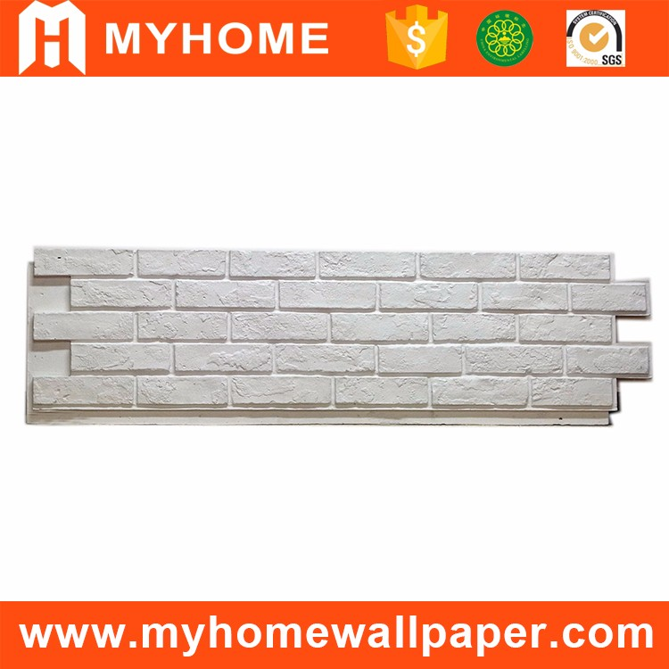 Cheap price decorative stone wall panels lightweight faux PU stone panels for exterior wall
