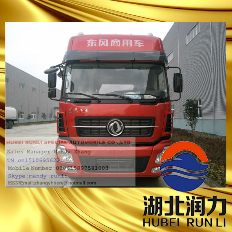 dongfeng tianlong tractor 3 Axle/axis Asphalt Semi Trailer