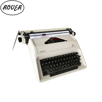 "13"" english manual typewriter"