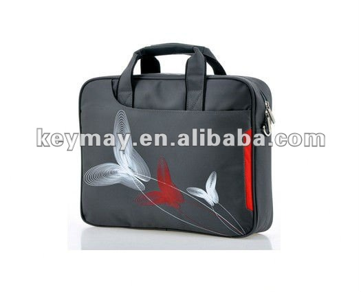 Ladies fashion promotion cute polyester sky travel samsung 15inch laptop bags for women
